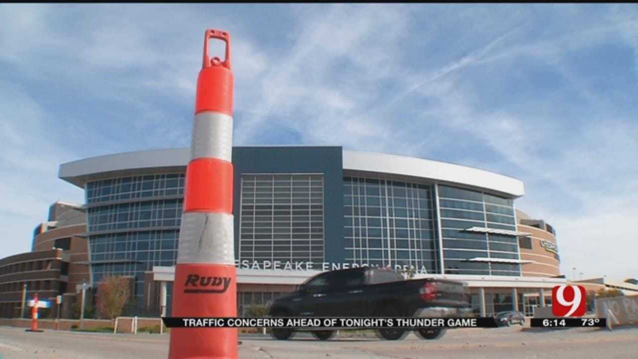 Traffic Concerns Abound Getting To And From Thunder Games