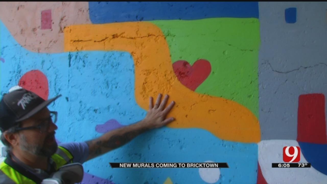 New Murals Coming To Bricktown