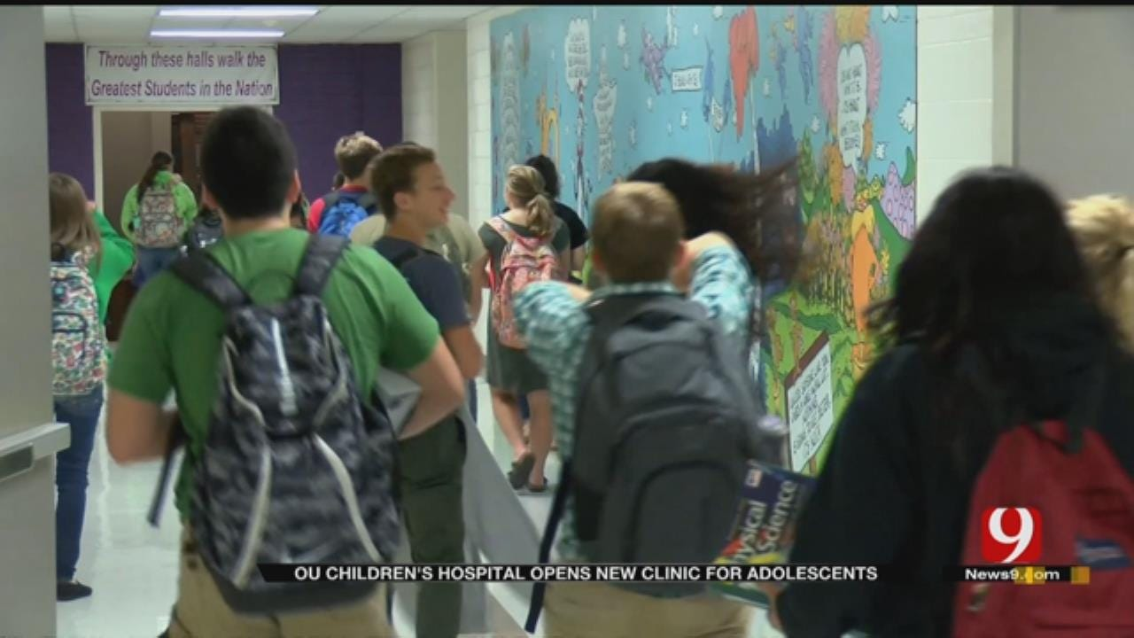 Medical Minute: OU Children's Hospital Opens New Clinic For Adolescents