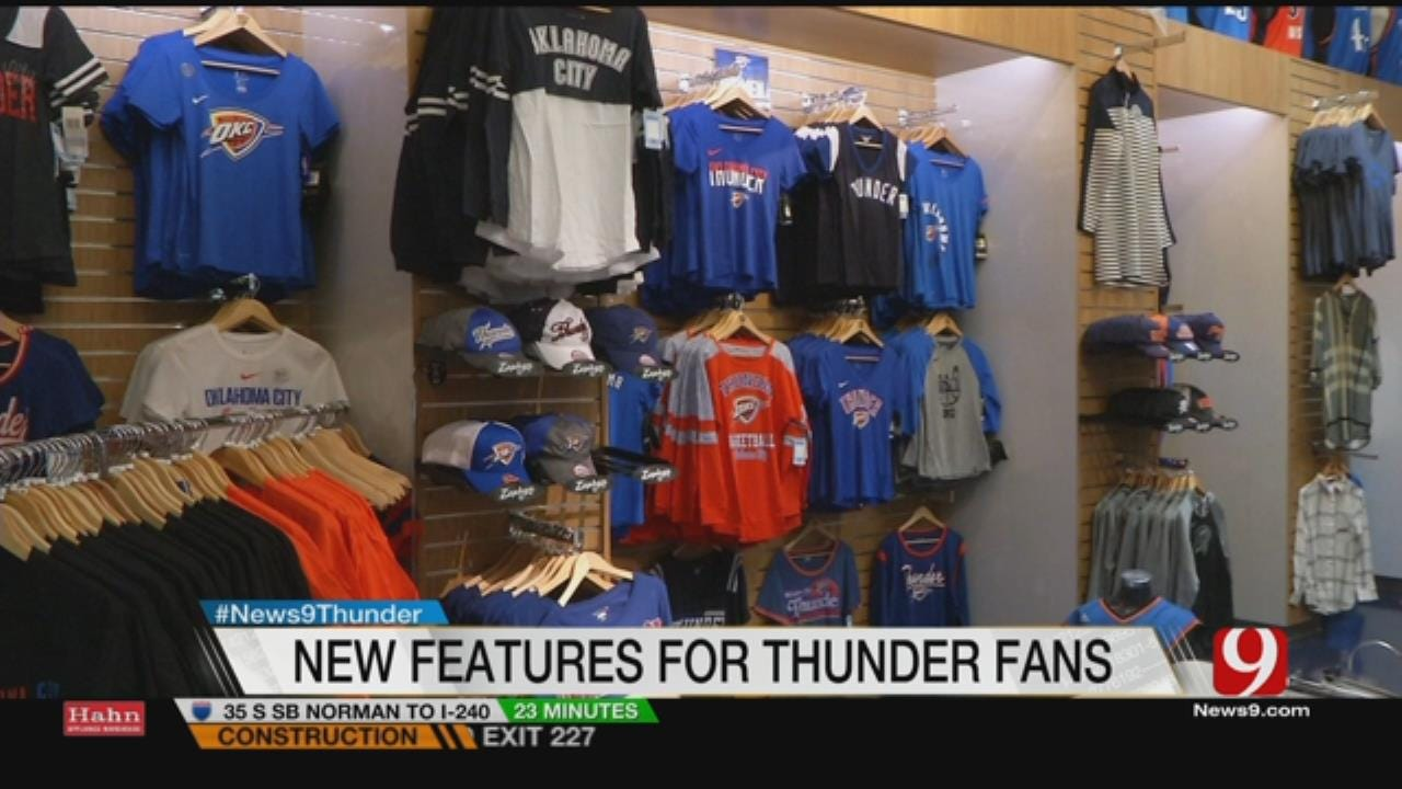 New Features On Display at Chesapeake Energy Arena For Thunder Opener