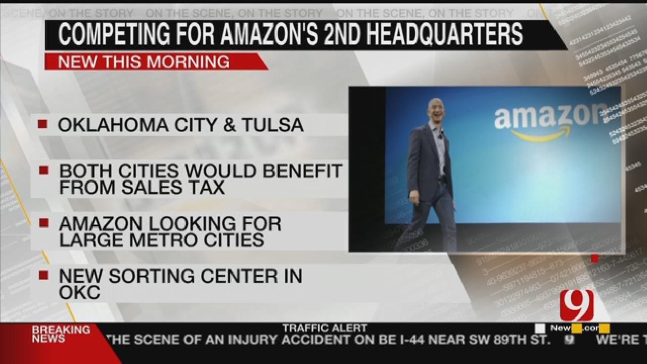 OKC, Tulsa Competing To Be Amazon's Second Headquarters