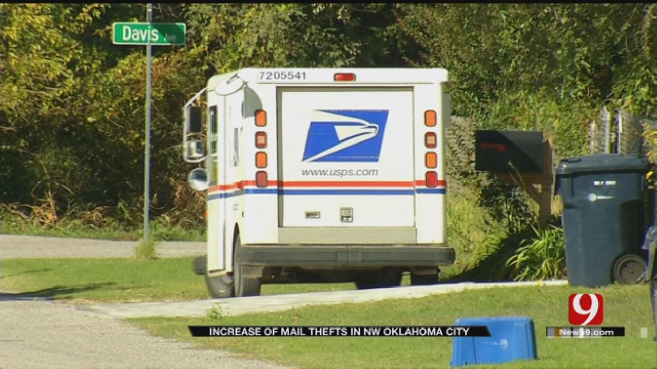 Rash Of Mail Thefts In OKC