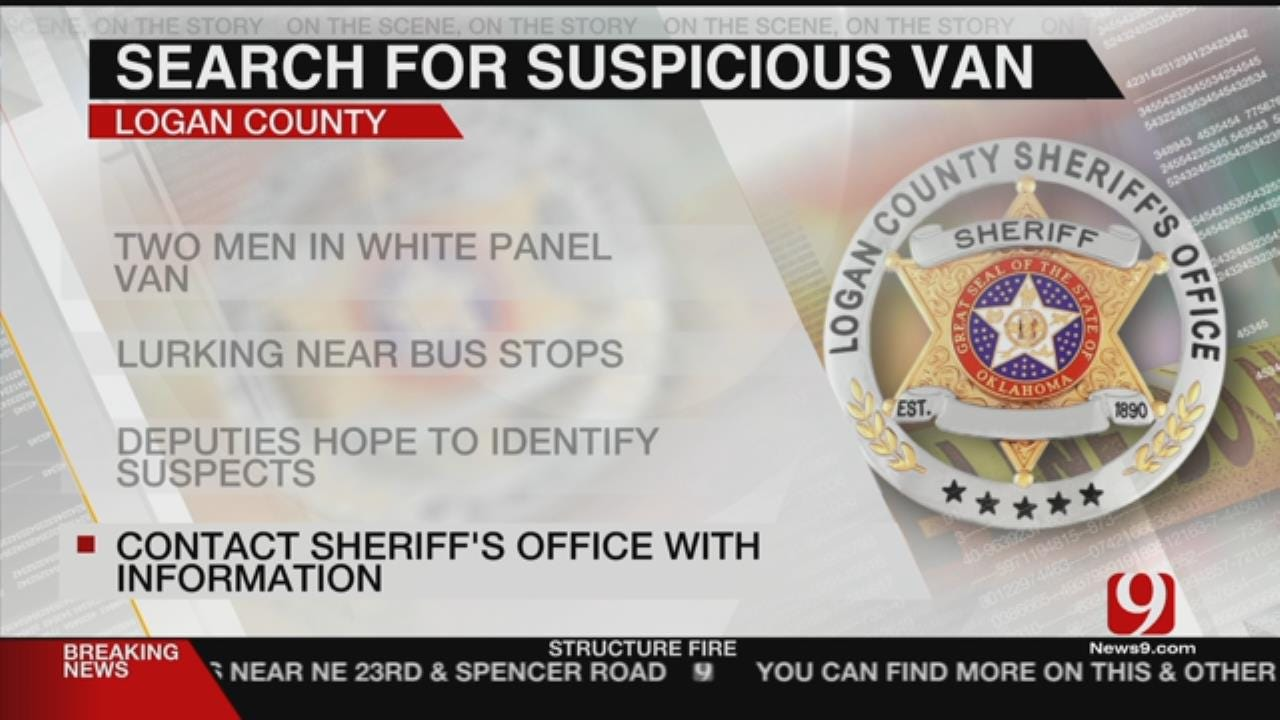 Sheriff's Office: Suspicious Vehicle Spotted Near Bus Stops In Logan Co.