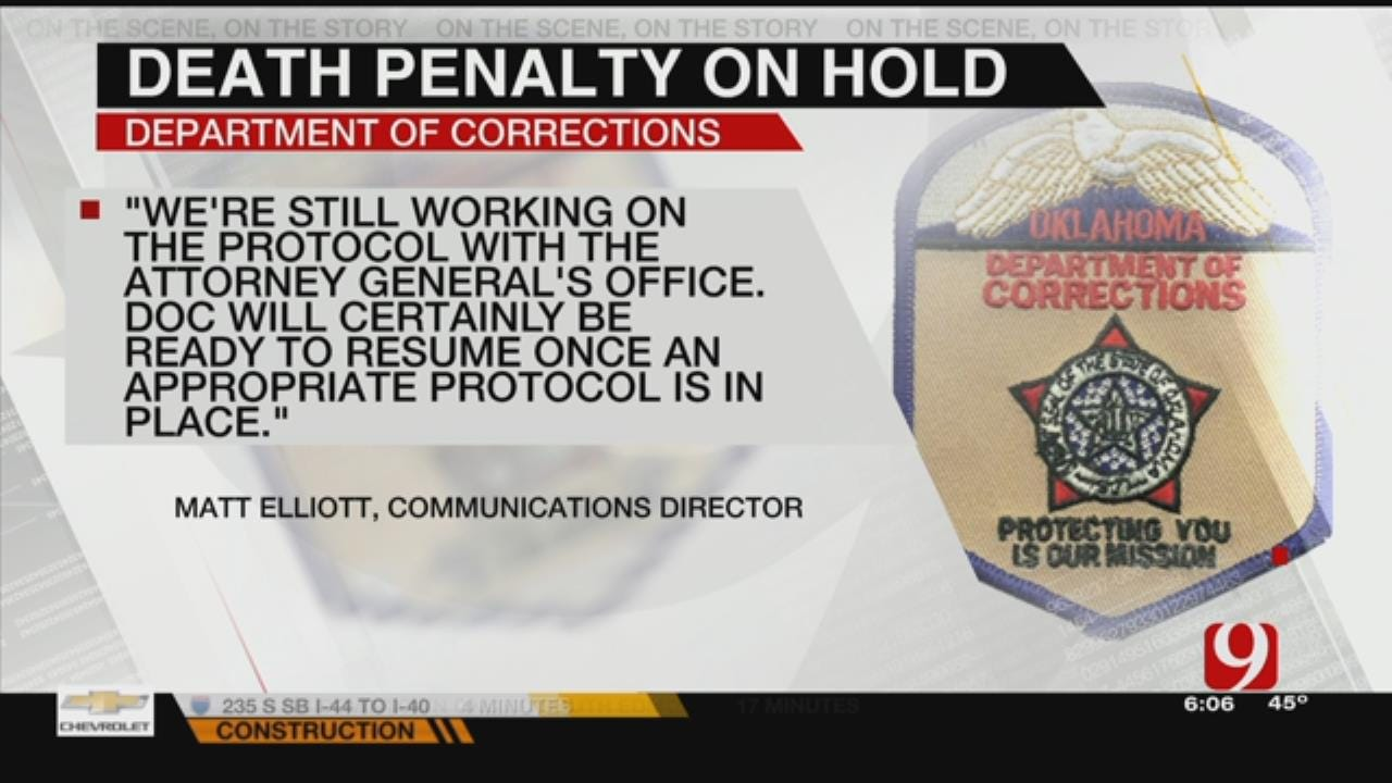 DOC Continues To Work On Death Penalty Protocol