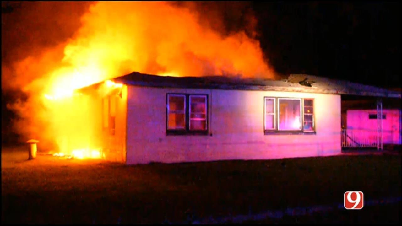 WEB EXTRA: Fire Crews Battle Spencer House Fire