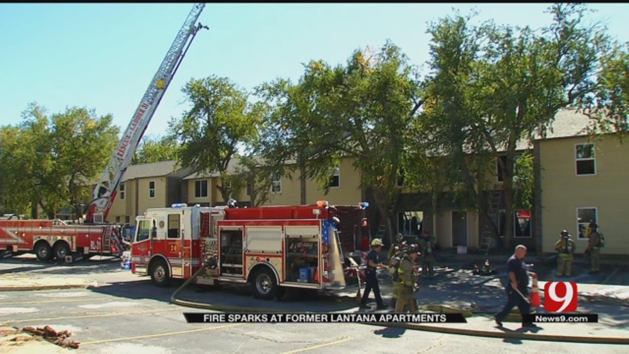 Arson Investigation Underway At Former Lantana Apartments