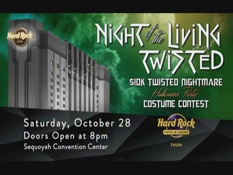Hard Rock: Living Twisted Halloween Pre-Roll - 10/17