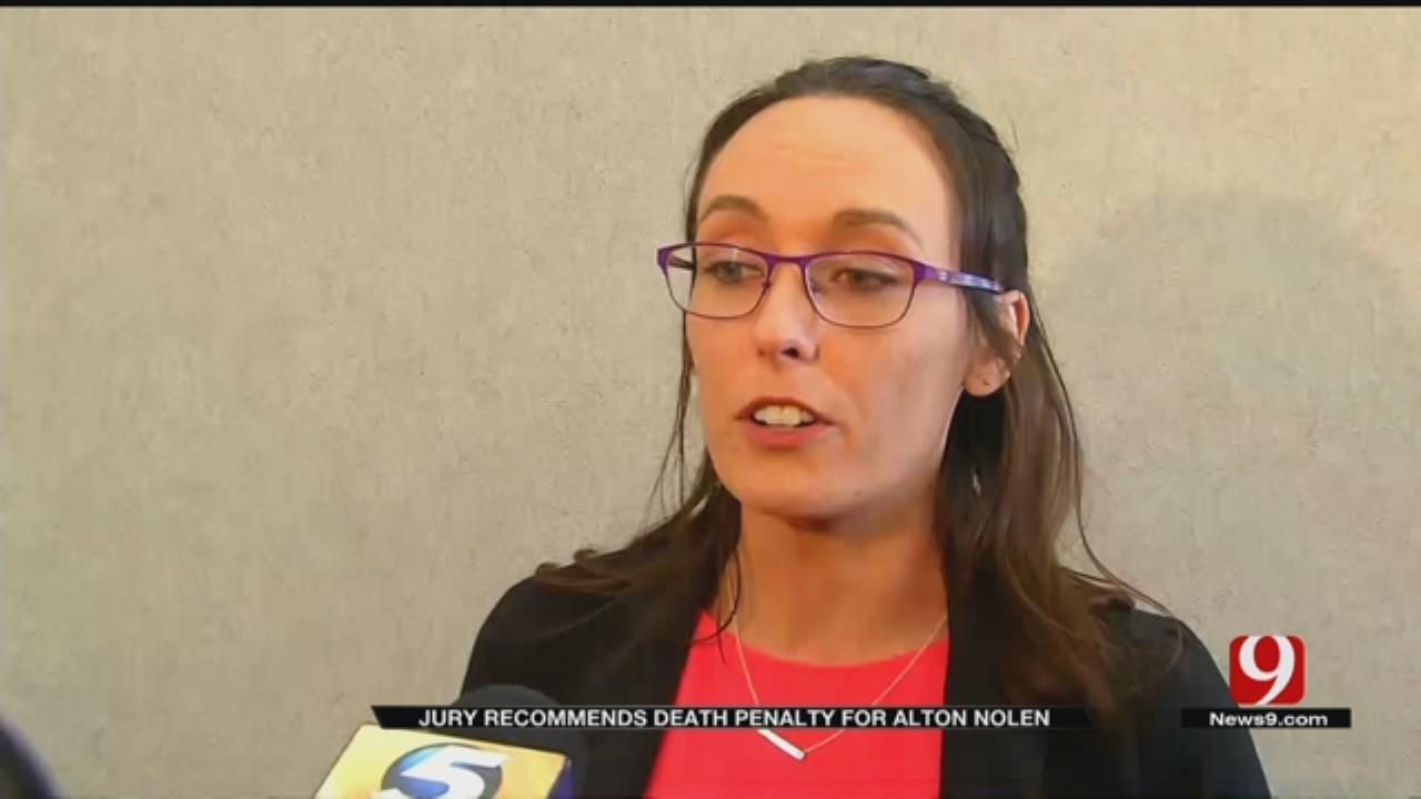 Jury Recommends Death Penalty For Alton Nolen