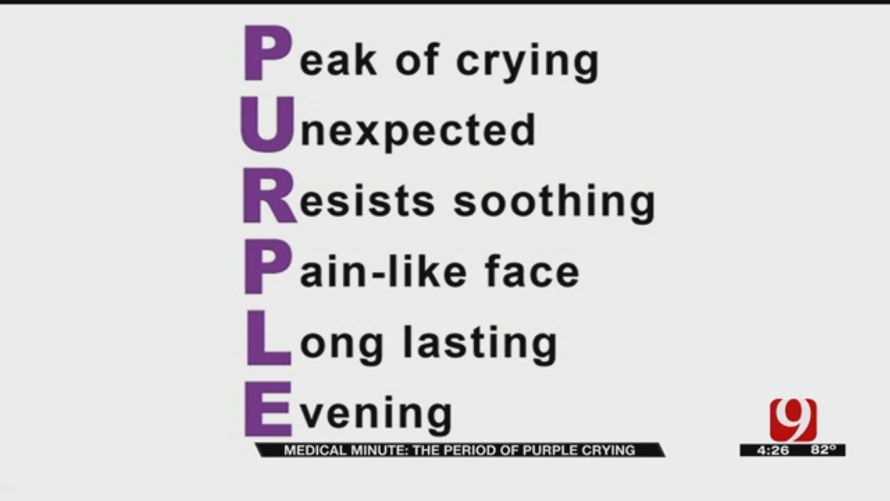 Medical Minute: PURPLE Crying