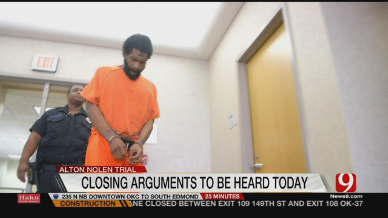 Closing Arguments To Be Heard In Penalty Phase Of Nolen Trial