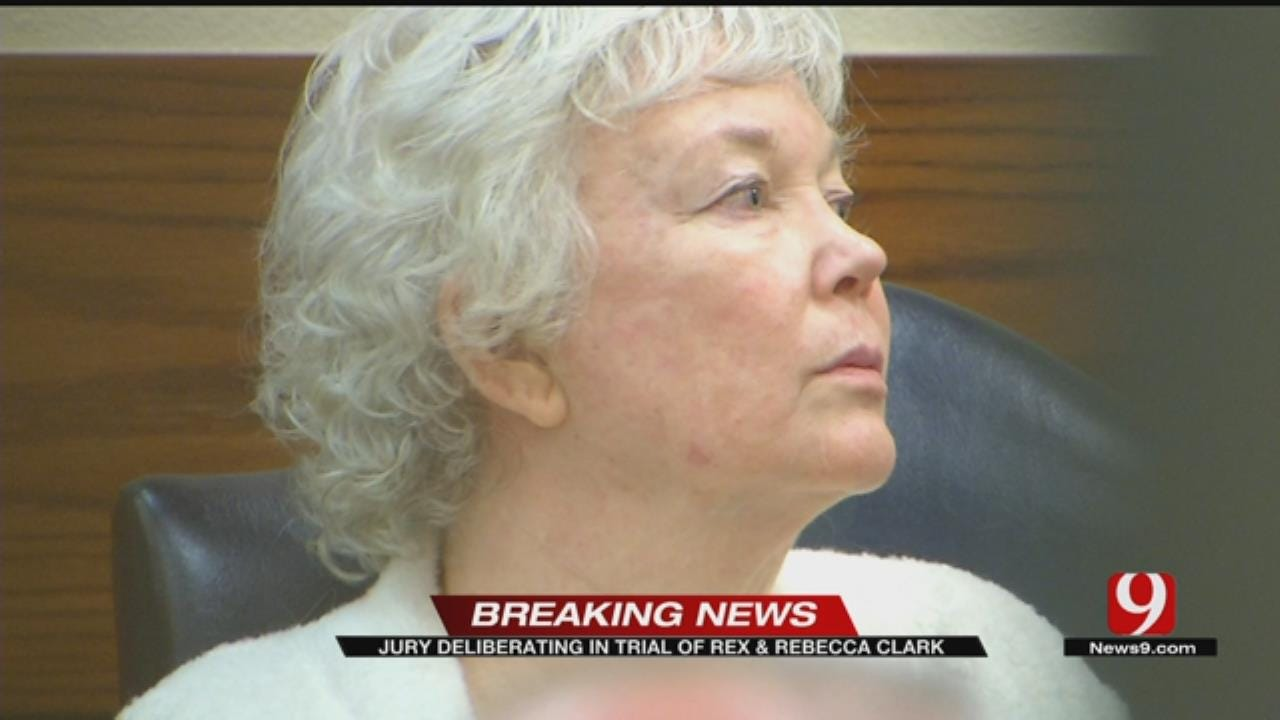 Jury Deliberating In The Murder, Child Abuse Trial Of Rex And Rebecca Clark