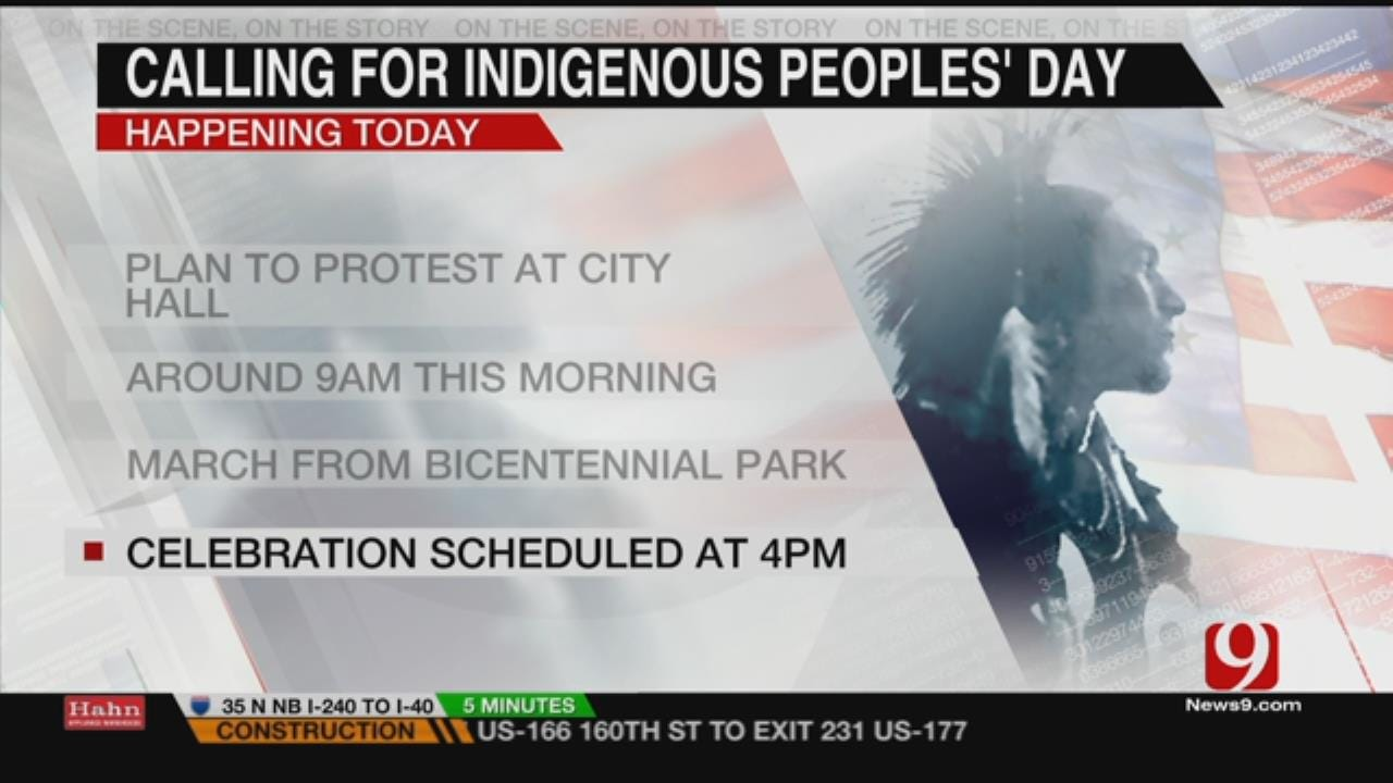 Native Americans To Picket OKC City Hall On Columbus Day
