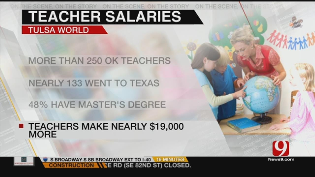 Survey Shows Teachers Earn More After Leaving Oklahoma
