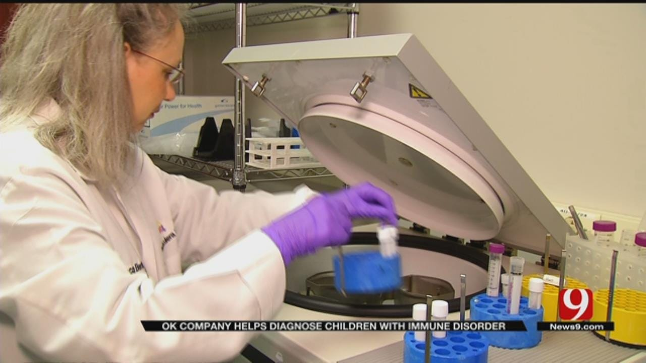 OKC Lab Finding Hope For Families Dealing With PANDAS
