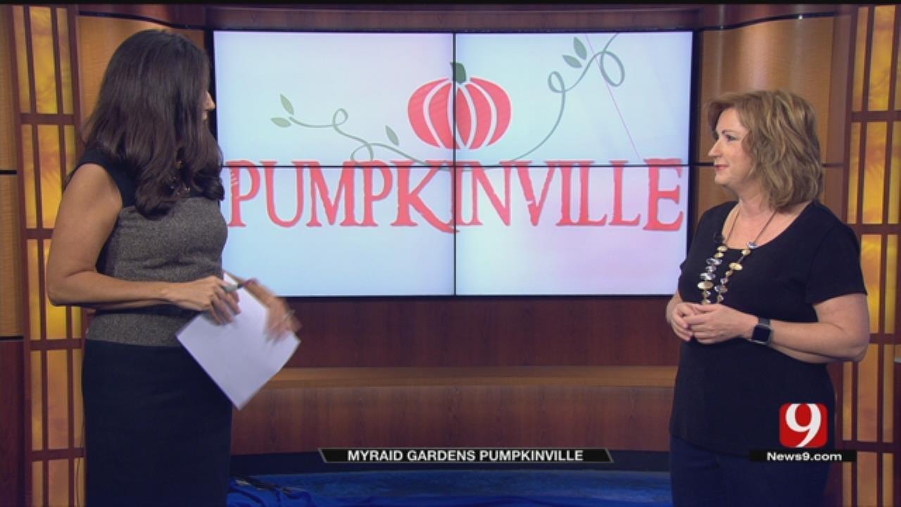 """Pumpkinville"" Opens At Myriad Gardens"