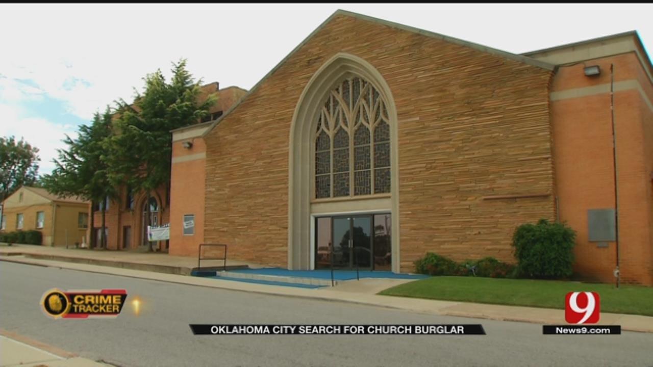 NE OKC Church Burglarized