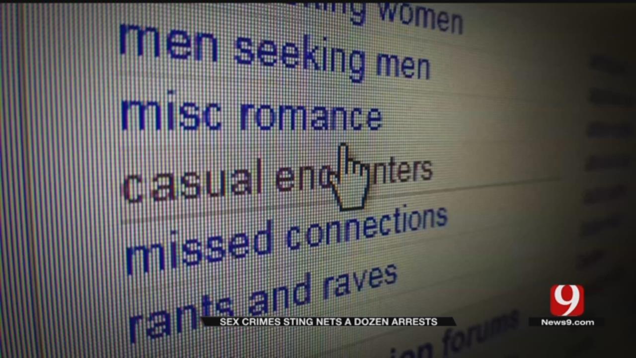 Undercover OSBI, OBN Child Sex Sting Results In 12 Arrests