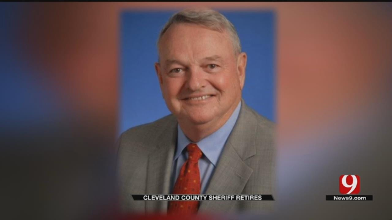 Cleveland Co. Officials React To Sheriff's Sudden Retirement