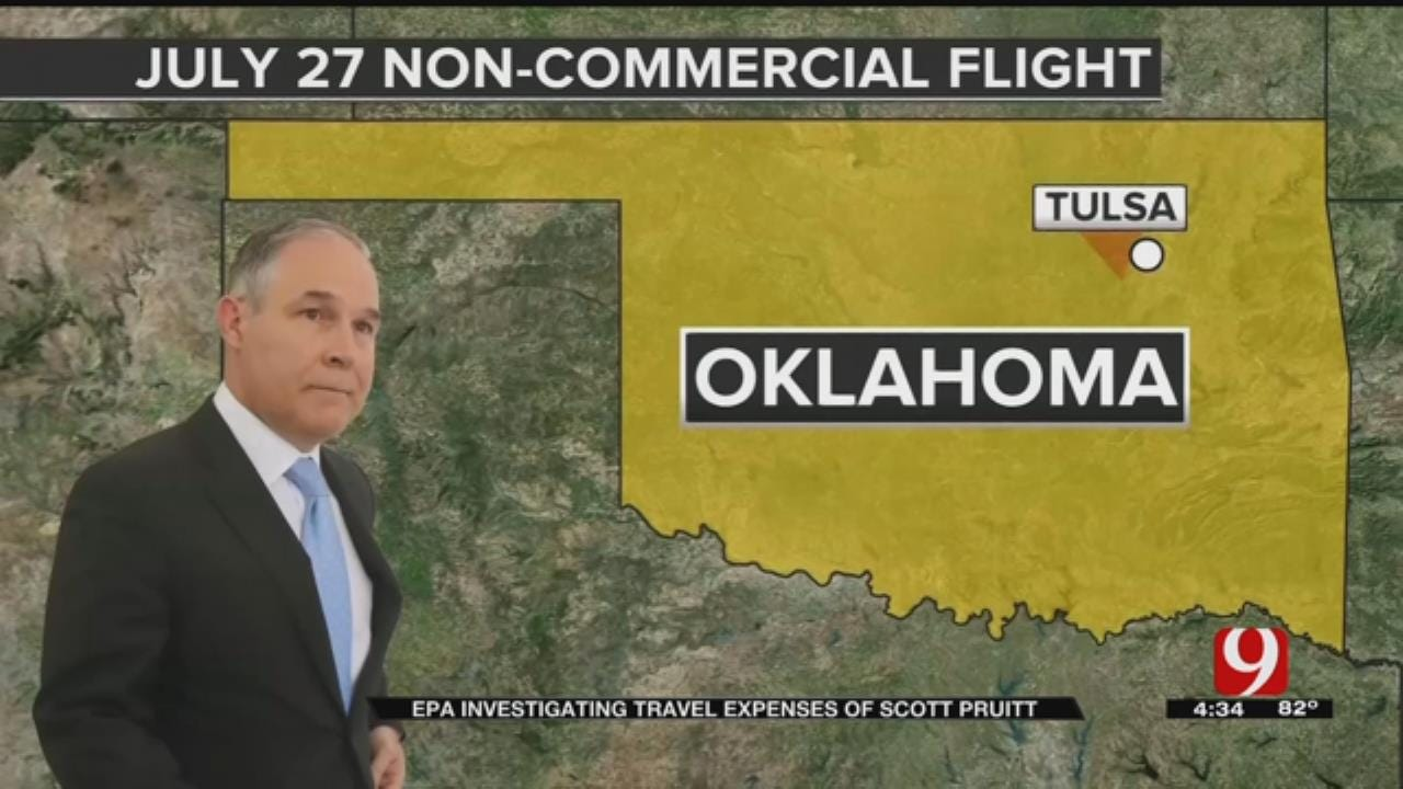 Travel Under Scrutiny, Pruitt Will Not Say Whether He Will Resign