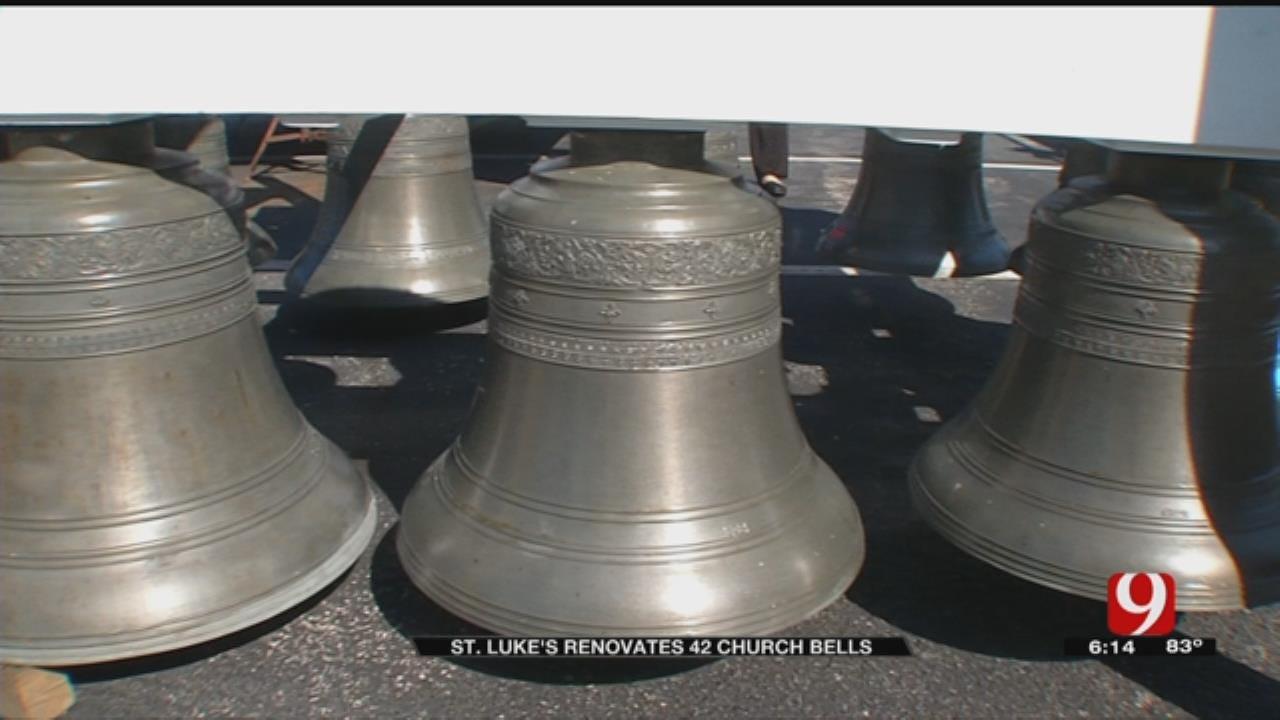 St. Luke's UMC Re-Installs Bells After Renovation