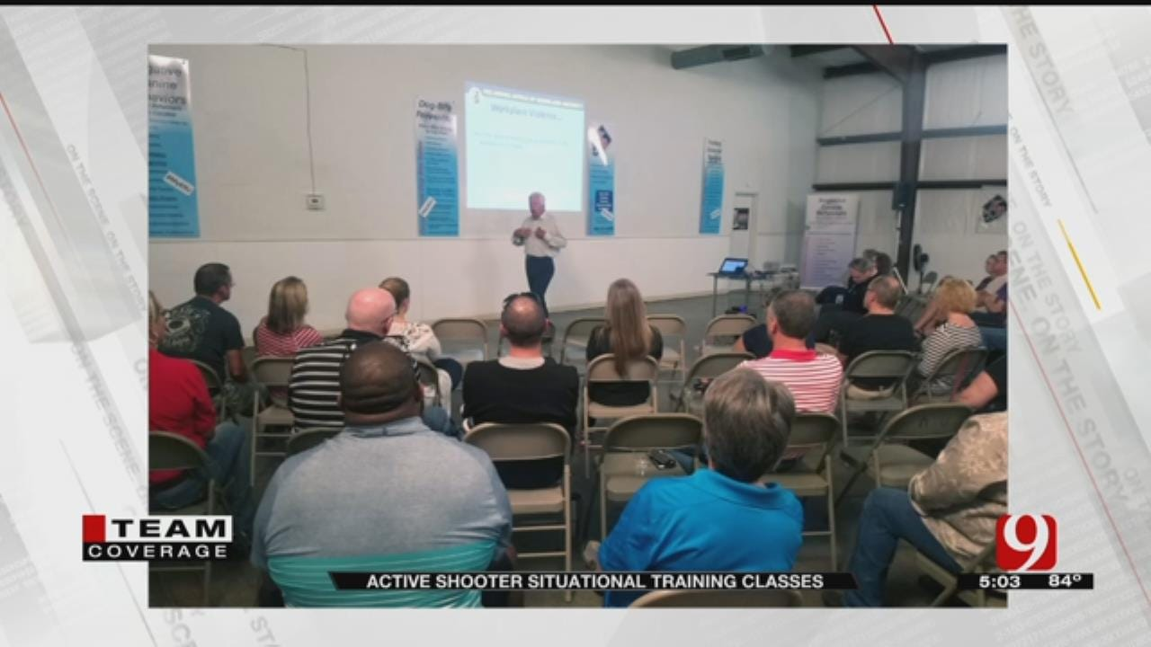 Local Business Holds Active Shooter Prevention & Response Classes