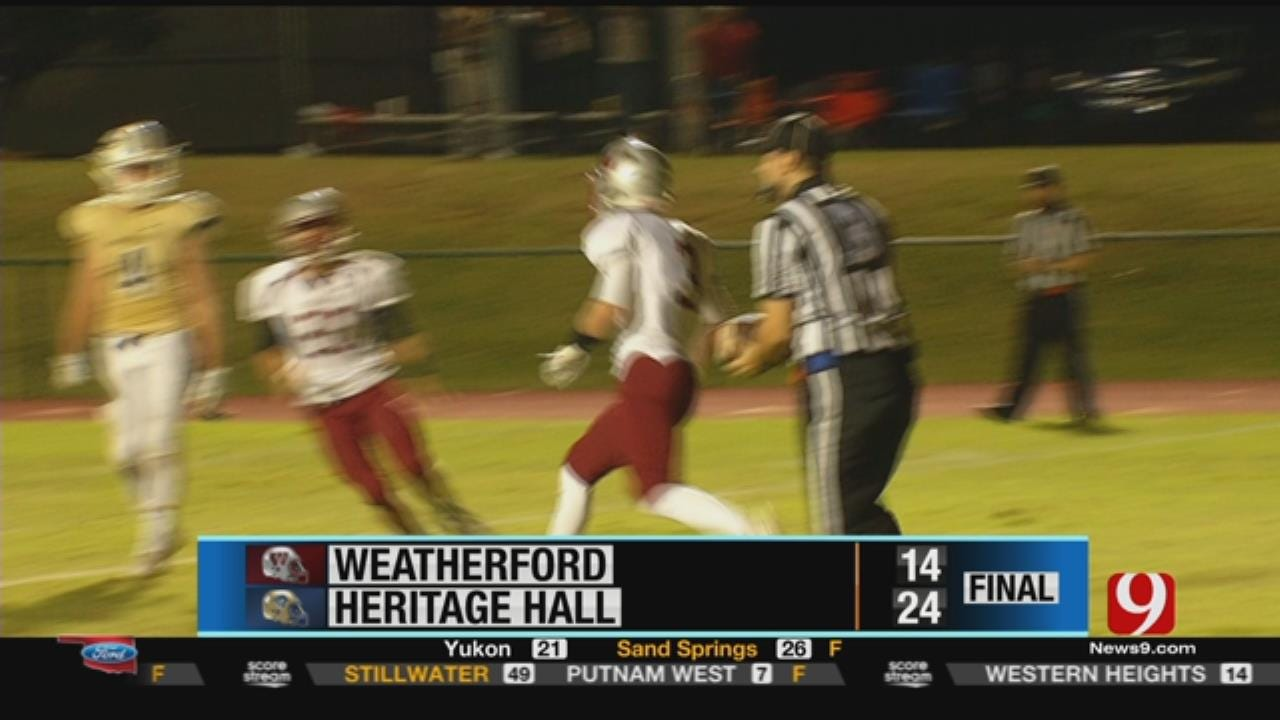 Weatherford 14 at Heritage Hall 24