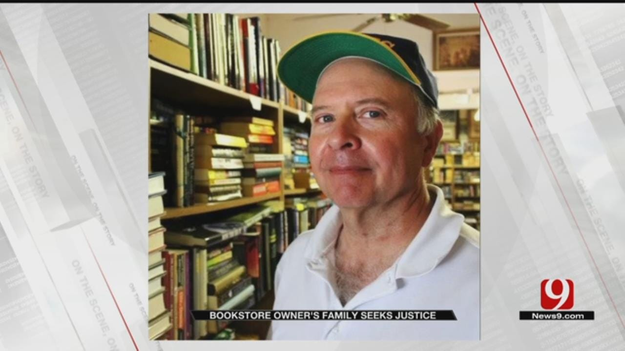 Family Of Murdered OKC Bookstore Owner Seeks Answers