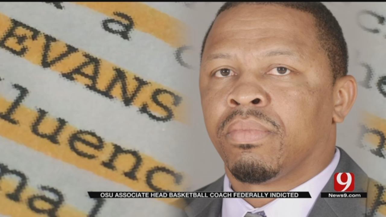 OSU Associate Head Basketball Coach Lamont Evans Charged In Bribery, Fraud Scheme