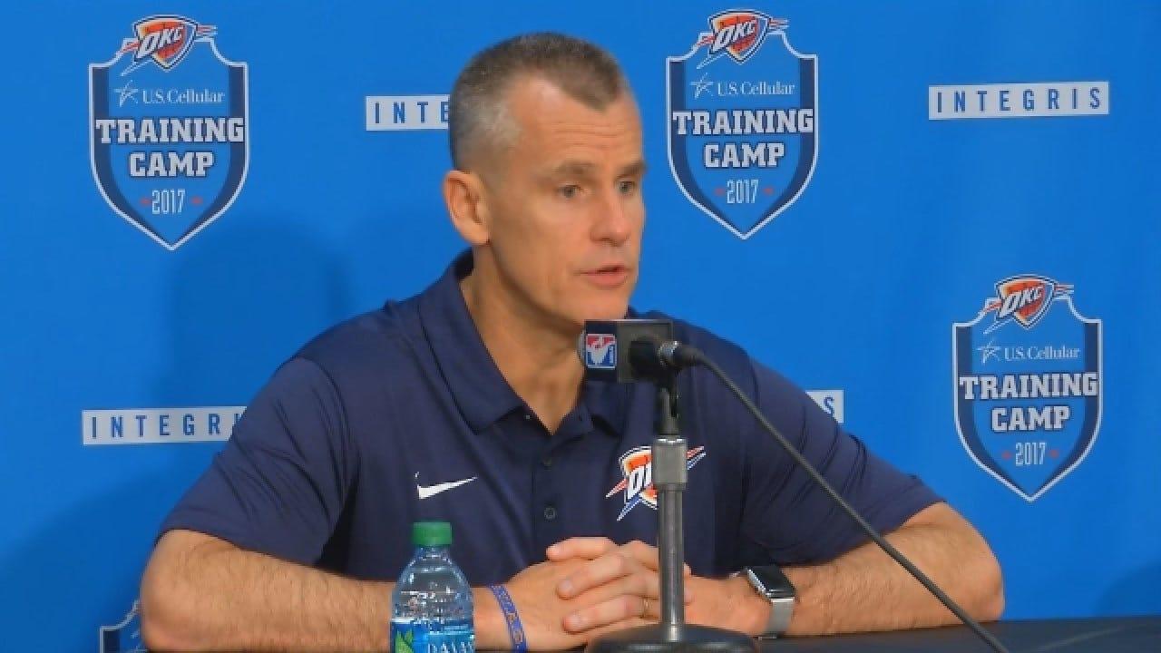 Thunder Media Day: Coach Billy Donovan