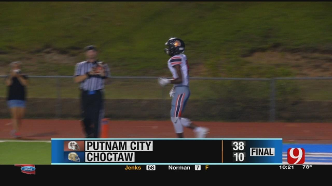 Putnam City 38 at Choctaw 10
