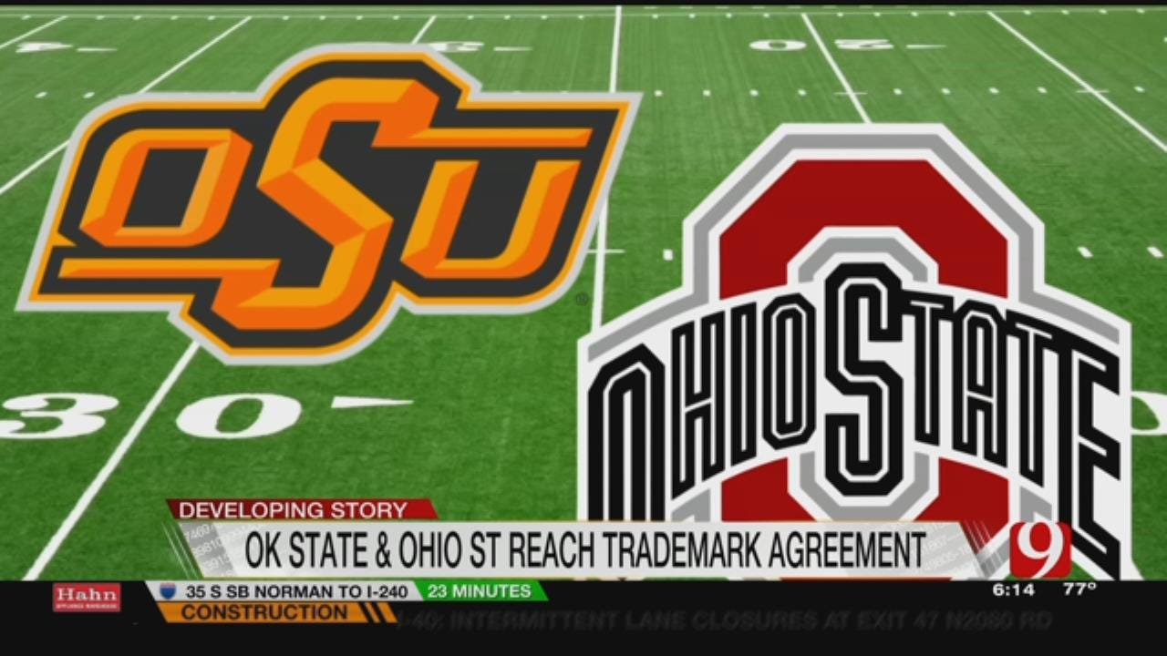 OK State, Ohio State Reach Trademark Agreement