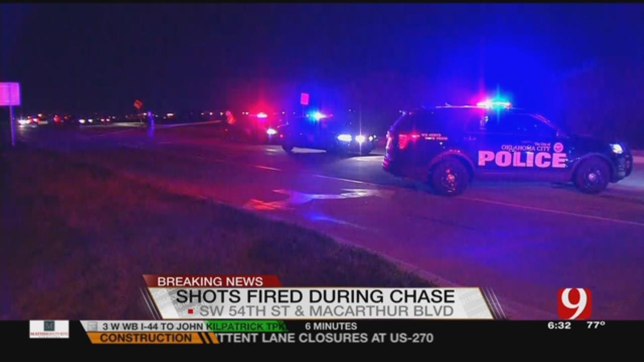Police Chase Ends In Crash In SW OKC