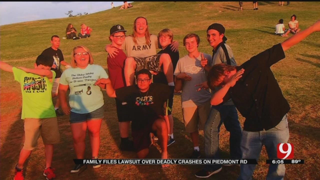 Family Of Teen Killed In Car Accident Files Lawsuit Demanding ODOT, OKC Fix Intersection