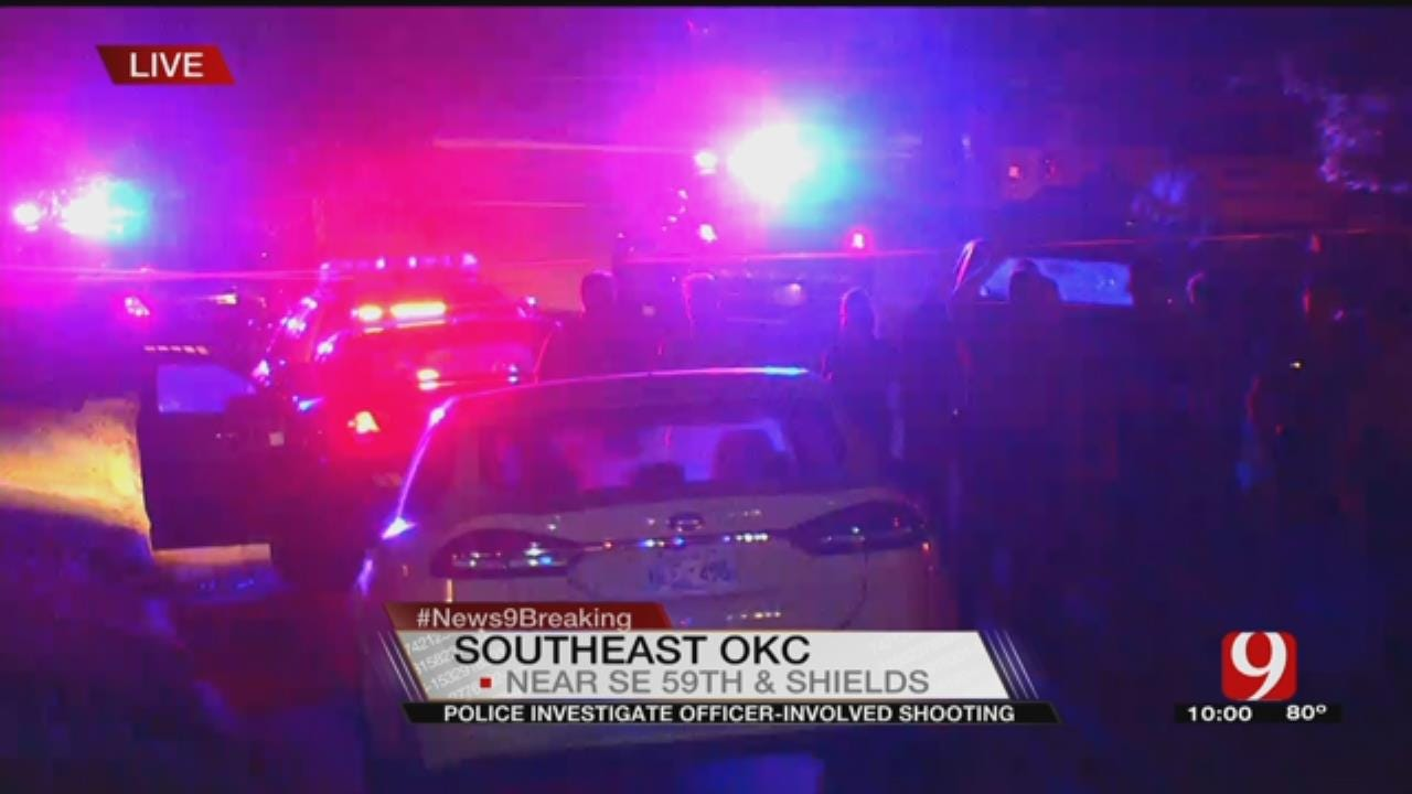 Suspect Dies After Officer-Involved Shooting In SE OKC