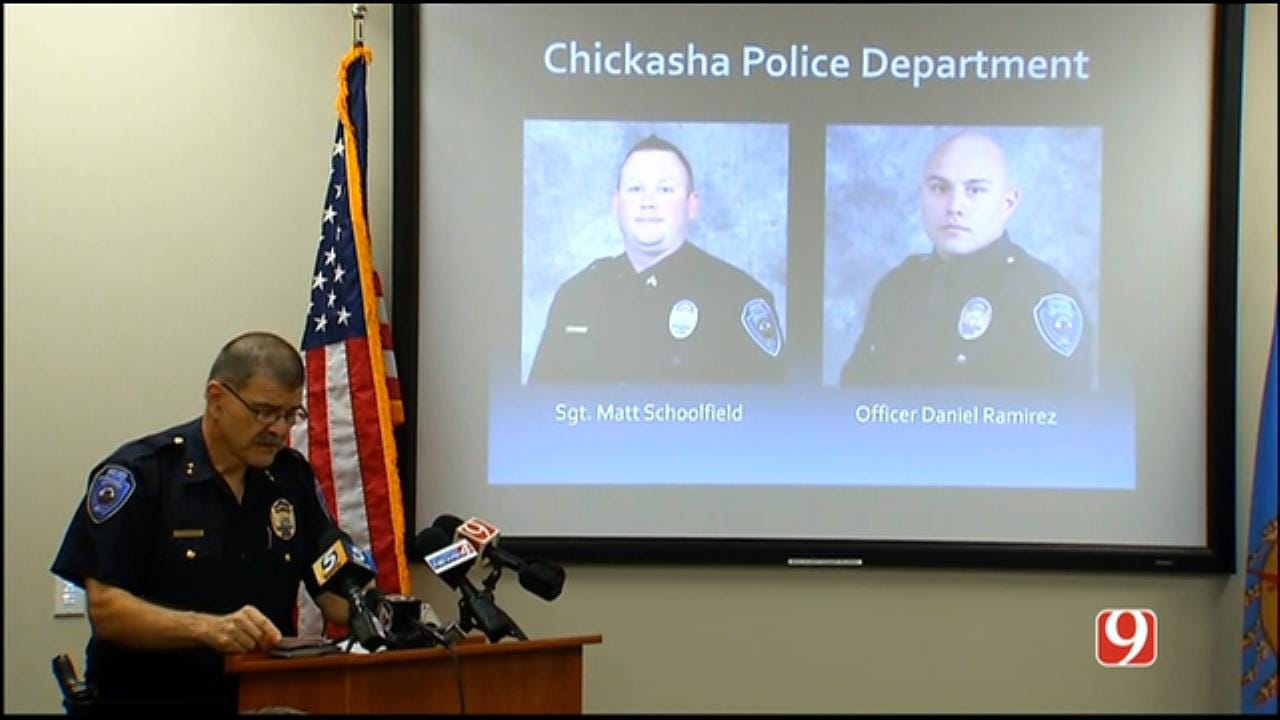 WEB EXTRA: Chickasha Police Give Update Concerning Injured Officers