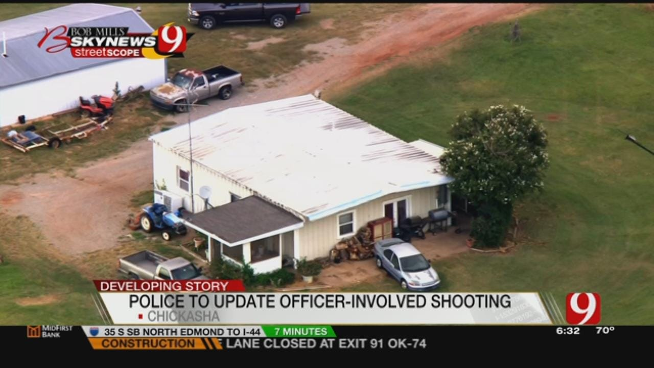 Police To Give Update On Chickasha Officer-Involved Shooting