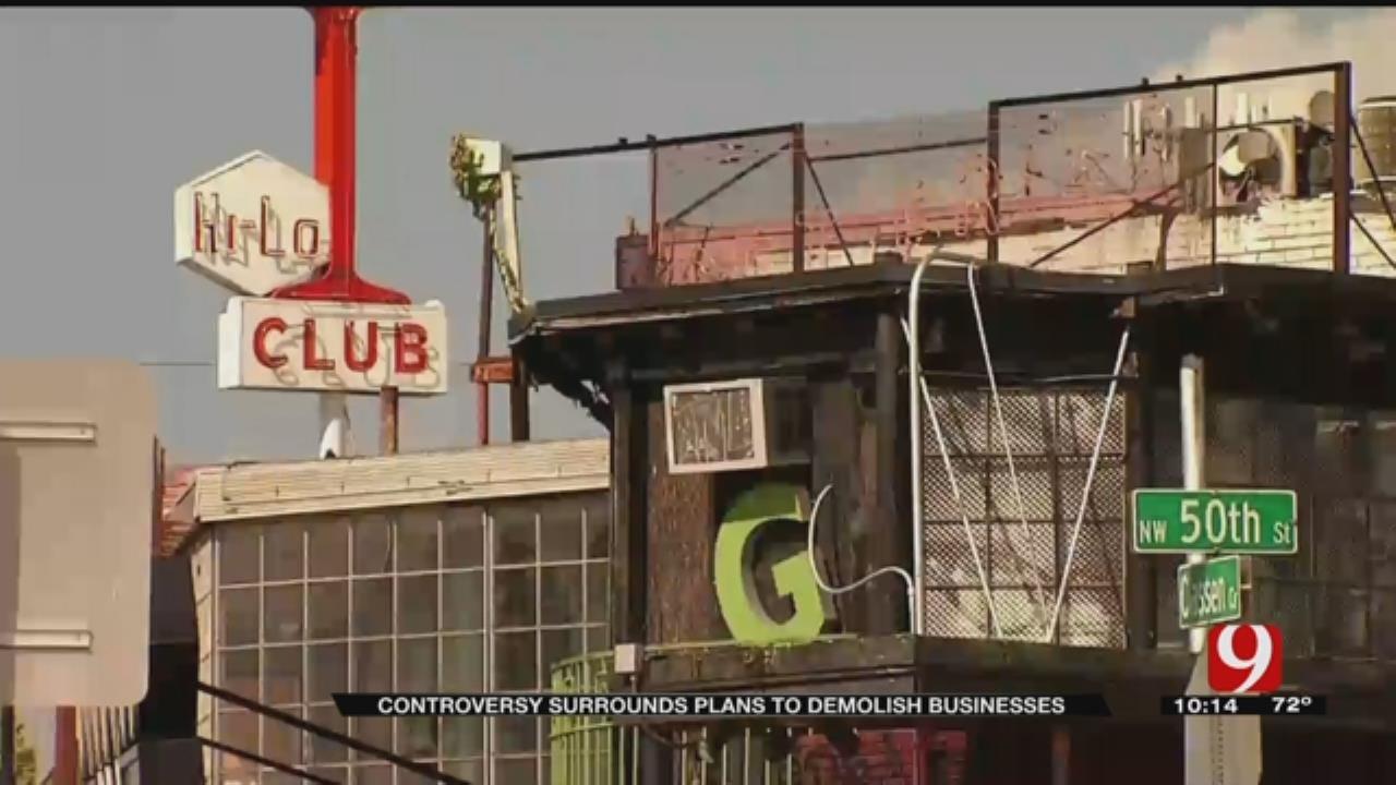 Braum's Plans To Demolish Businesses