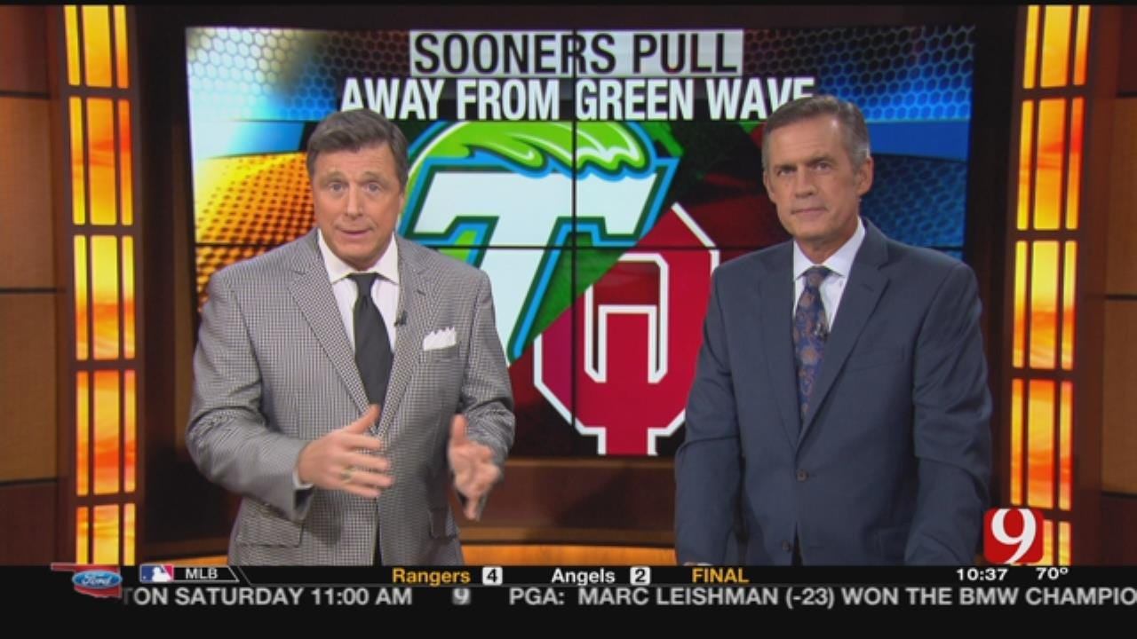 Sooners Pull Away From Green Wave