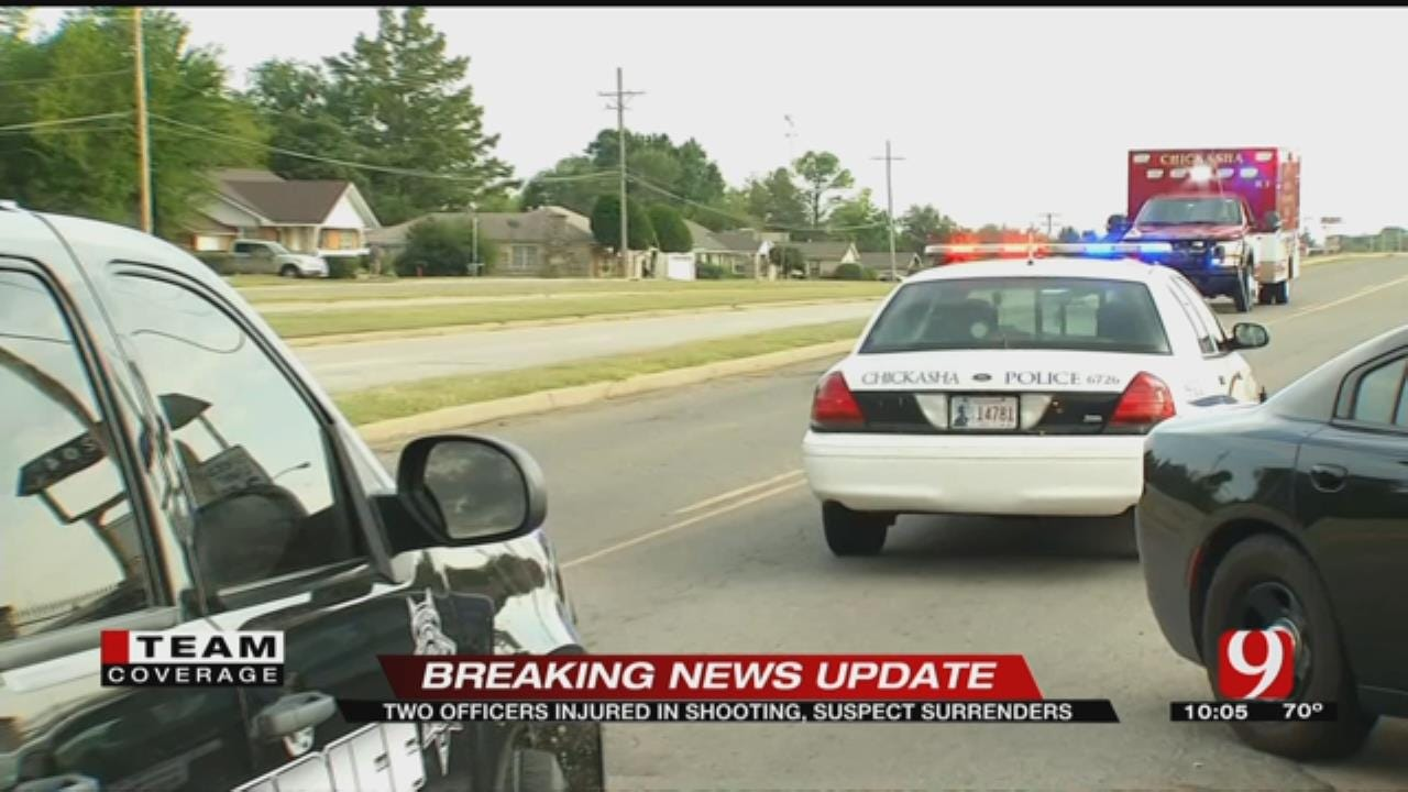 Chickasha Police Investigate Officer-Involved Shooting Sunday Afternoon