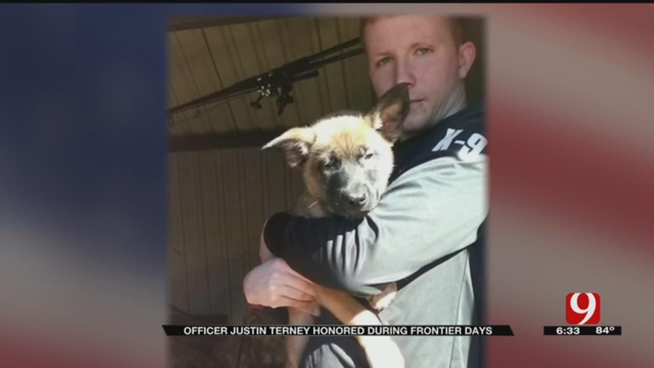 Tecumseh Honors Fallen Police Officer During 'Frontier Days'
