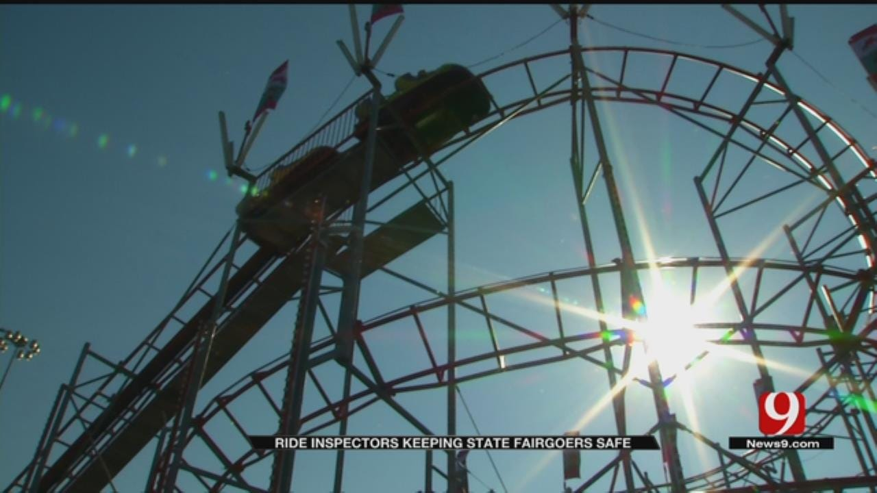 Ride Inspectors Closely Monitoring Oklahoma State Fair