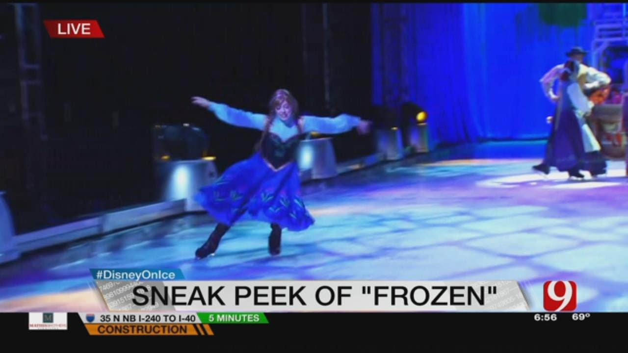 Disney On Ice Gives News 9 A Preview Of This Year's Show