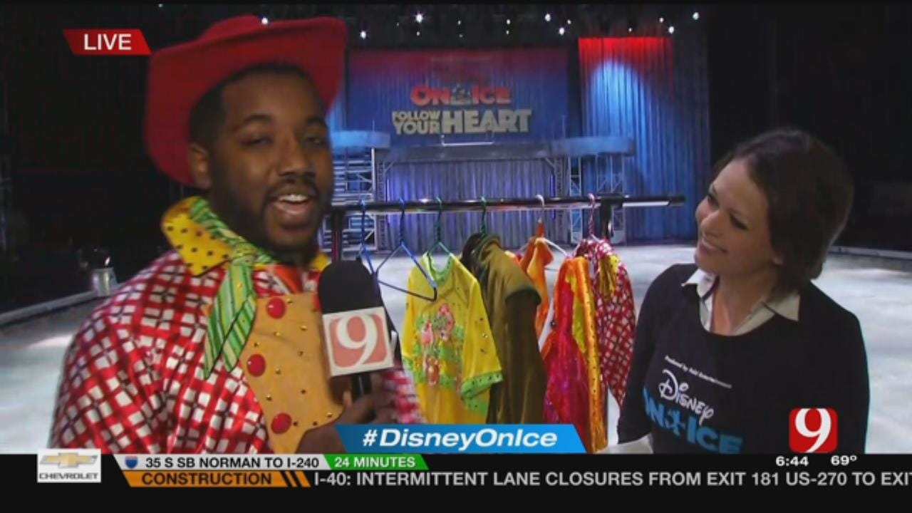 News 9's Chris Gilmore Gets In Costume For Disney On Ice