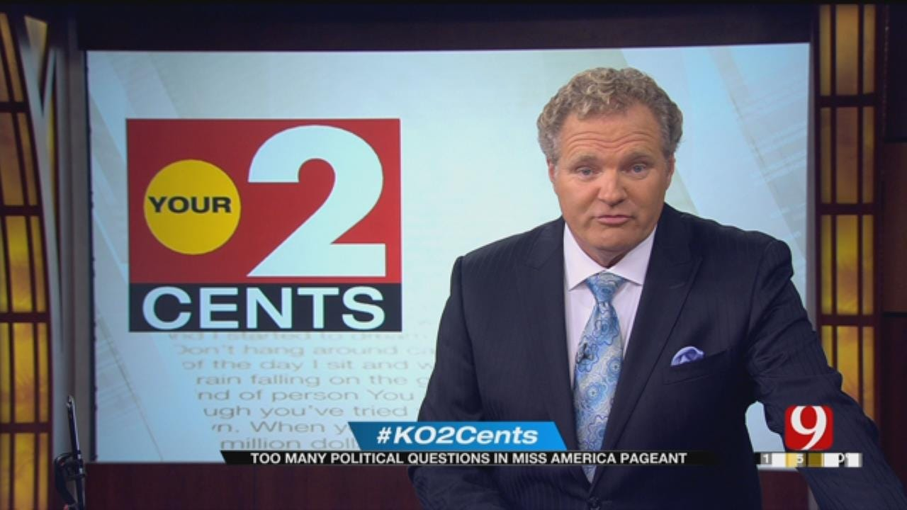 Your 2 Cents: Too Many Political Questions In Miss America Pageant