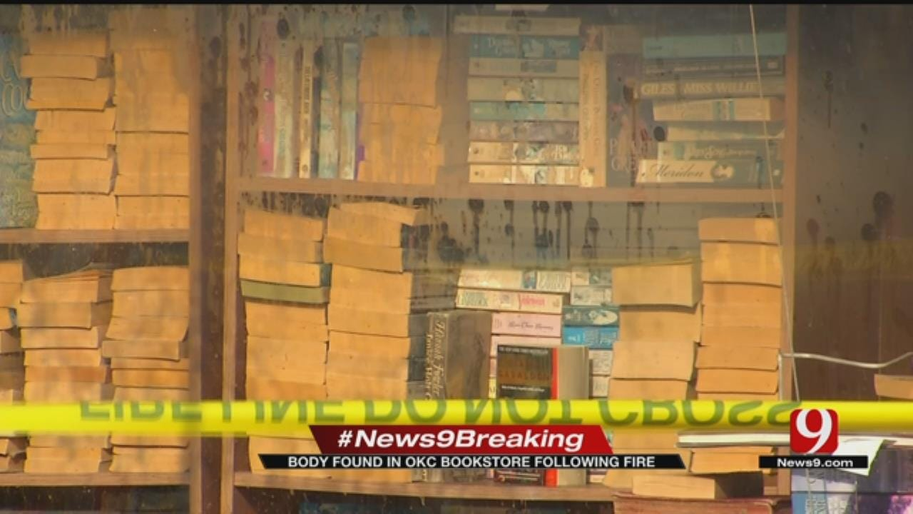 Man Found Dead After NW OKC Bookstore Fire