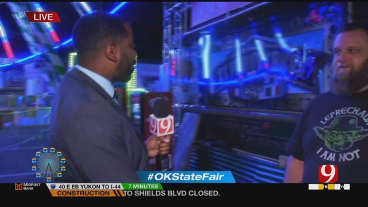 News 9's Chris Gilmore Chats With A Food Truck Vendor