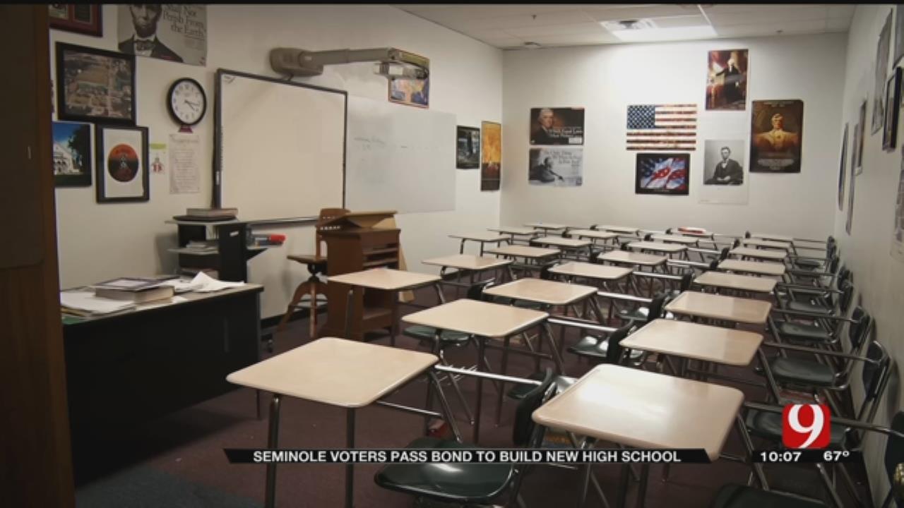 Voters Pass Bond To Build New Seminole High School