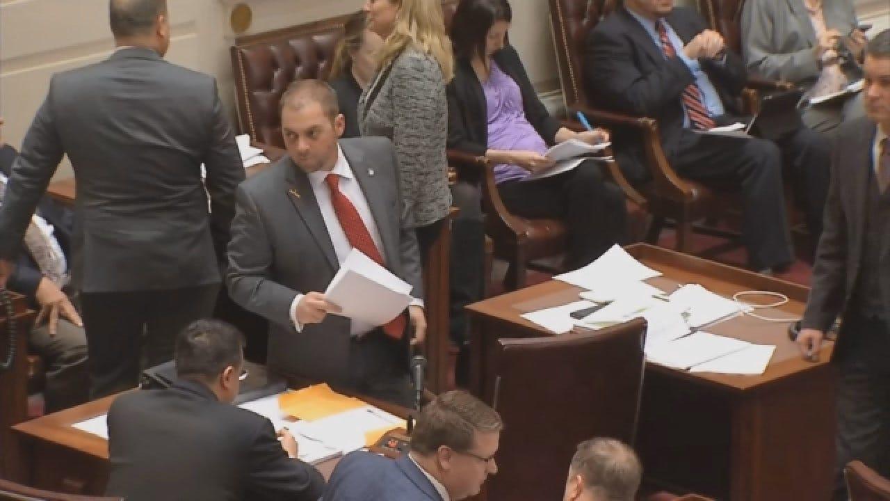 Oklahoma Senator Resigns Following Sexual Battery Charge