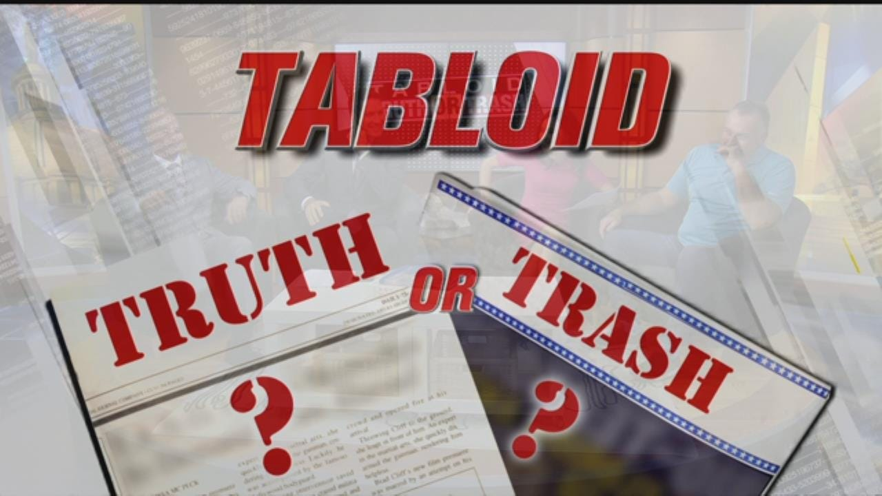 Tabloid Truth Or Trash For Tuesday, September 12
