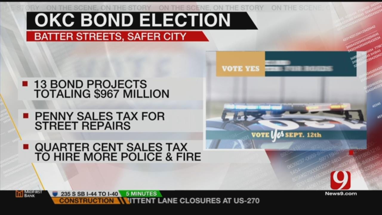 OKC Voters To Decide On Sales Tax Initiatives For City Improvements